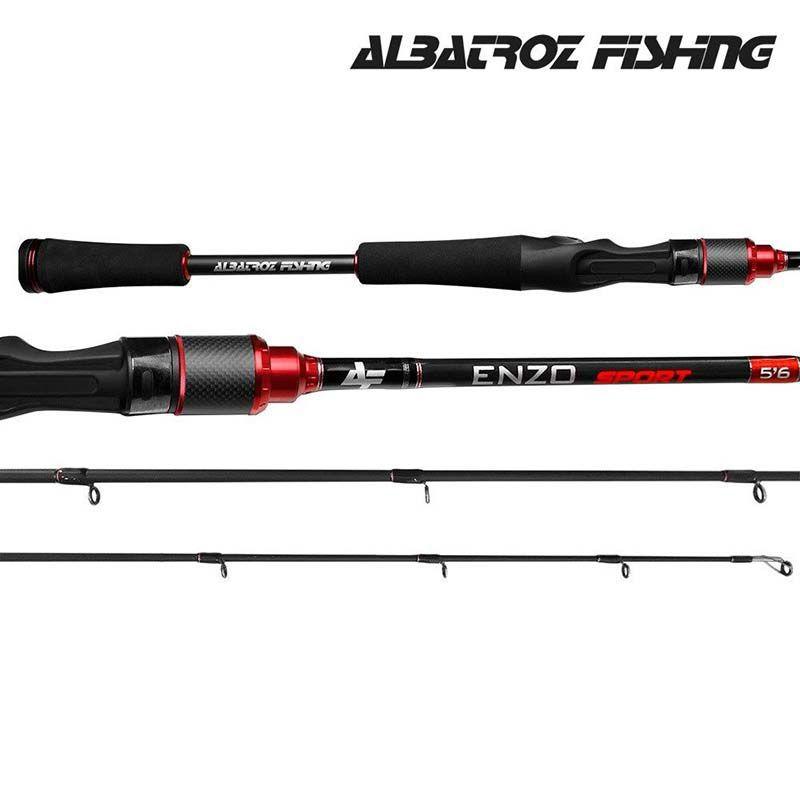 Vara p/ Carretilha Albatroz Fishing Enzo Sport I 5'6