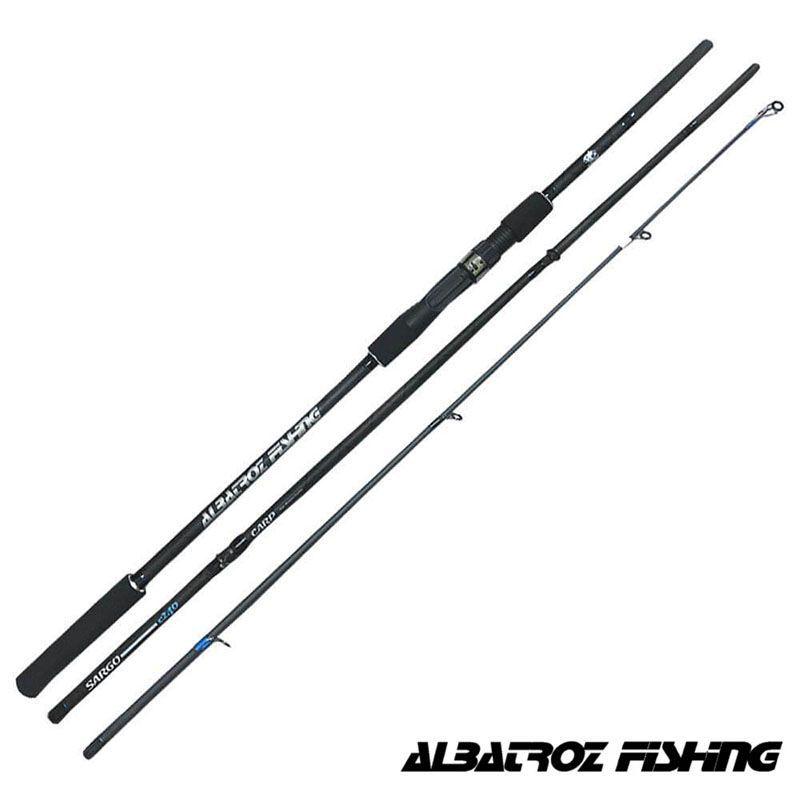 Vara p/ Carretilha Albatroz Fishing Sargo 2,40 m (1p)