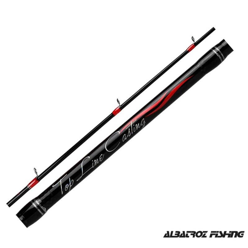 Vara p/ Carretilha Albatroz Fishing Top Line 6'3'' 12 lbs (2p)