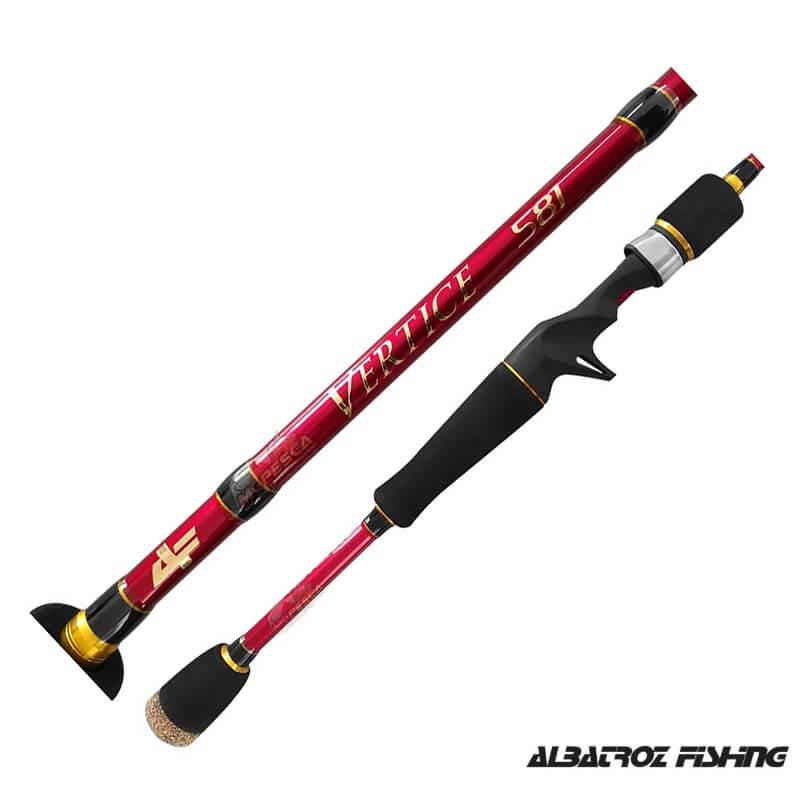 Vara p/ Carretilha Albatroz Fishing Vertice I 5'8