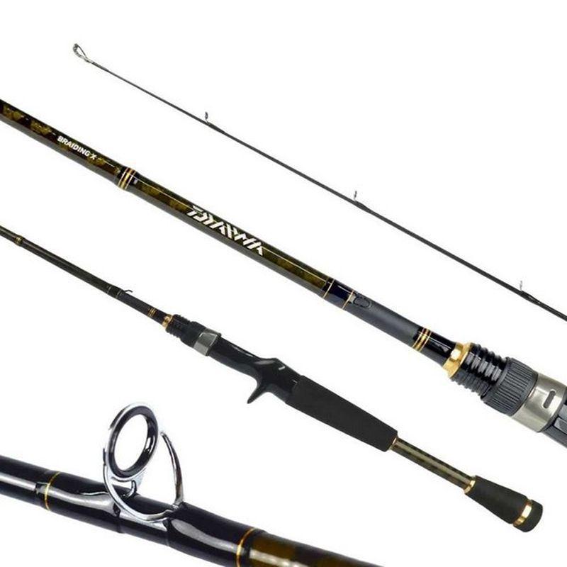 Vara P/ Carretilha Daiwa Aird X 631LXB (8-12 LBS)  - Pró Pesca Shop