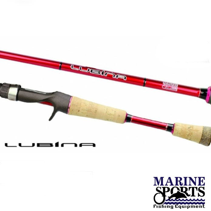 Vara p/ Carretilha Marine Sports Lubina 5'6'' 562 25 lbs  (2p)