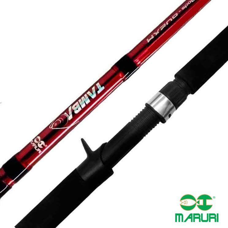 Vara p/ Carretilha Maruri Tamba 2,13 m 80 lbs (2p)  - Pró Pesca Shop
