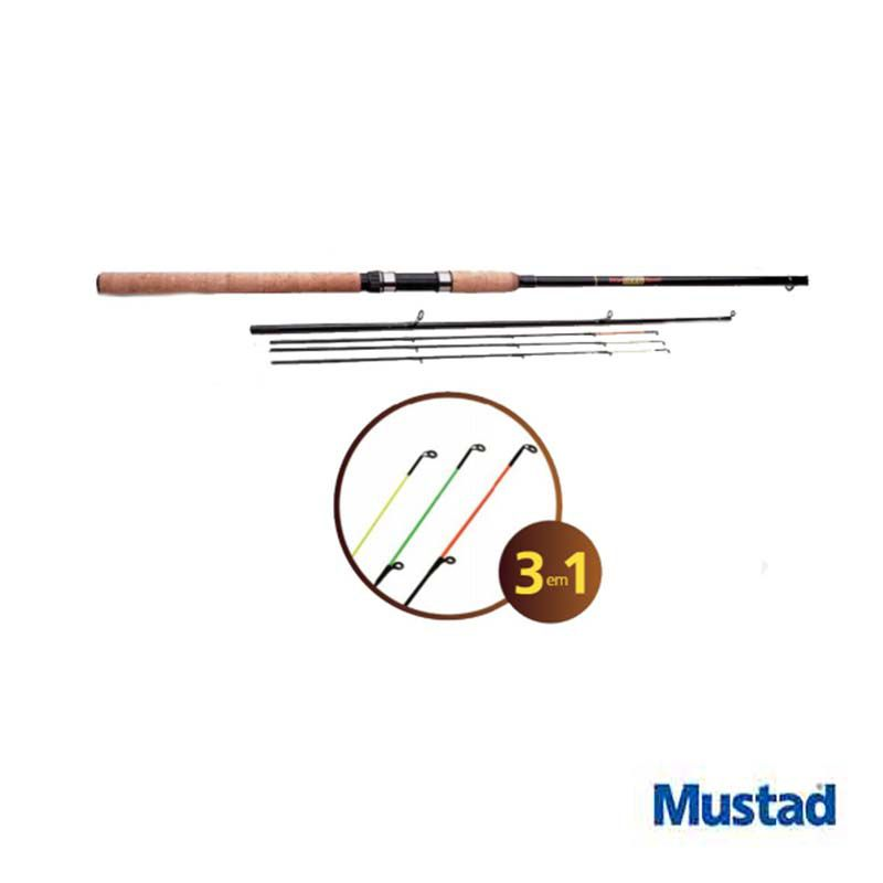 Vara p/ Carretilha Mustad Iron Fishing Sport 8'8'' 20 lbs (3p)