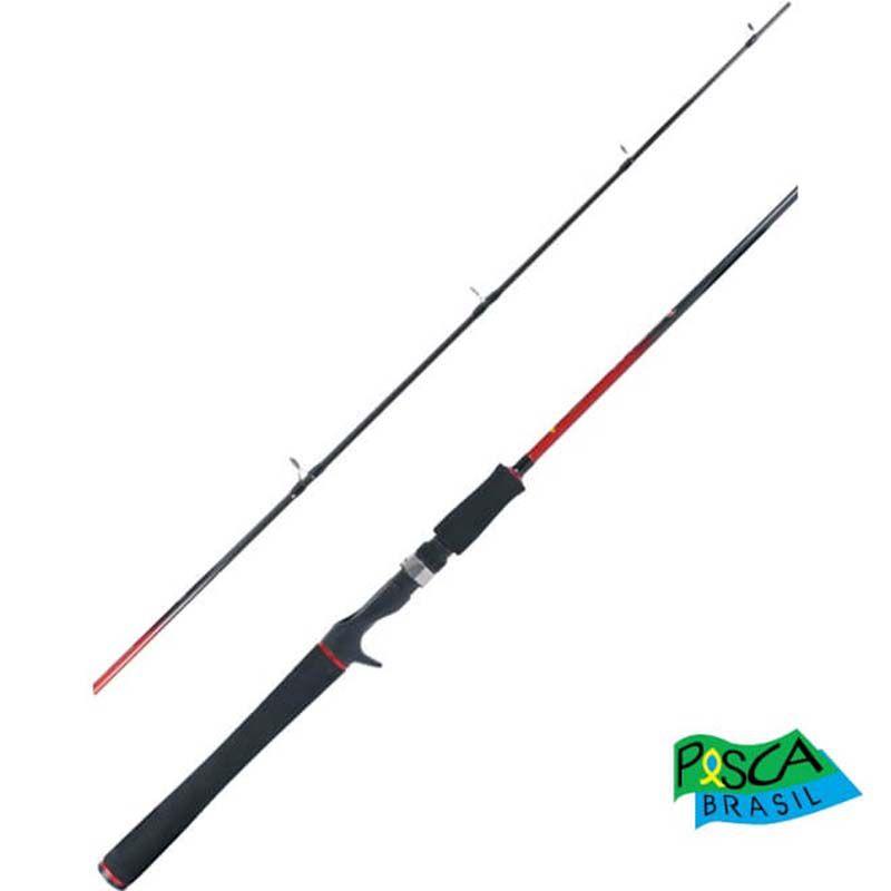 Vara p/ Carretilha Pesca Brasil Impacto 6'6