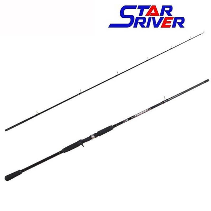 Vara p/ Carretilha Star River Carisma 2,70 m 45 lbs