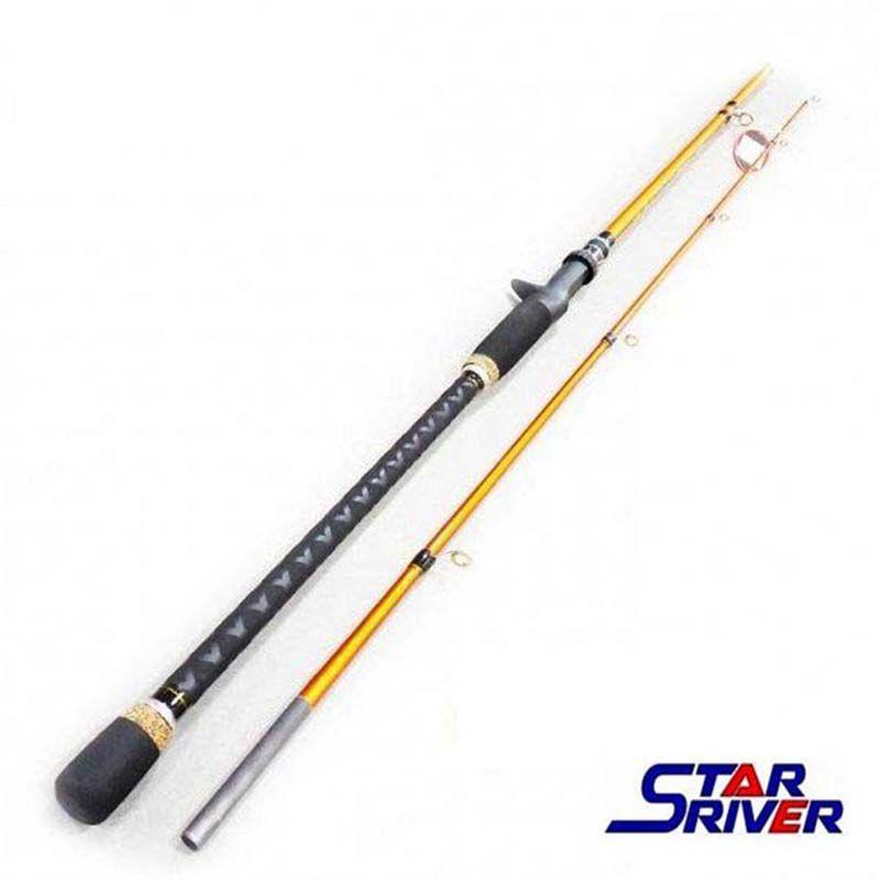 "Vara p/ Carretilha Star River Pioneer Xt 5'6"" 20 lbs (2p)"