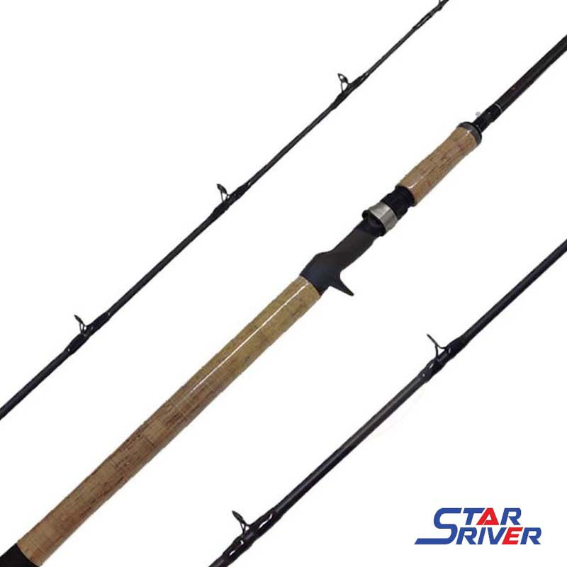 "Vara p/ Carretilha Star River Storm-X 6'6"" 45 lbs (1p)"