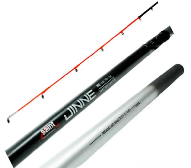 Vara Saint Jinne p/ Molinete 2,10 m 24 lbs (2 partes)  - Pró Pesca Shop