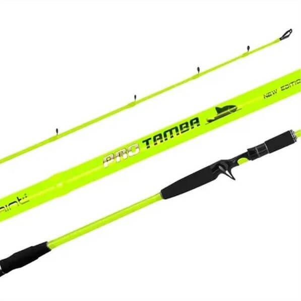 Vara Saint Pro Tamba Green p/ Carretilha 2,40 m 50 lbs (2 partes)  - Pró Pesca Shop