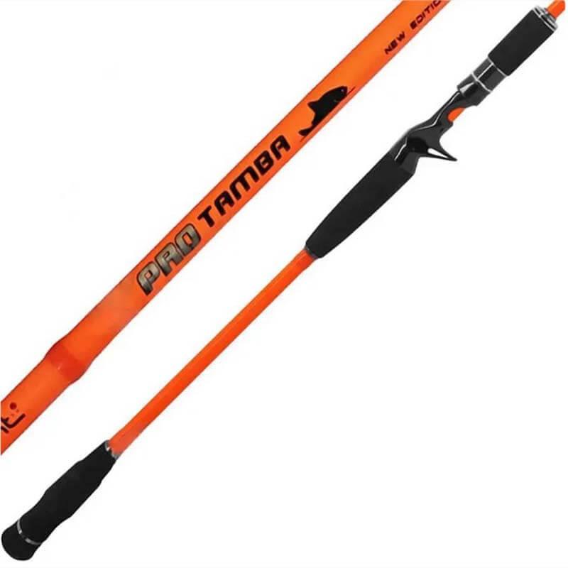 Vara Saint Pro Tamba Orange p/ Carretilha 2,70 m 50 lbs (2 partes)  - Pró Pesca Shop