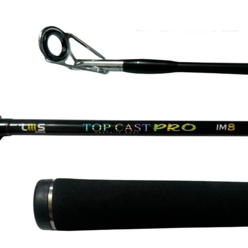 Vara Lumis Top Pro p/ Molinete 2,70 m 50 lbs (2 partes)