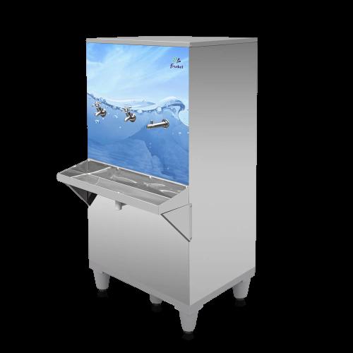 Bebedouro Industrial  100 Litros 3 torneiras gelada Inox 127V Ra100-3T - Frisbel