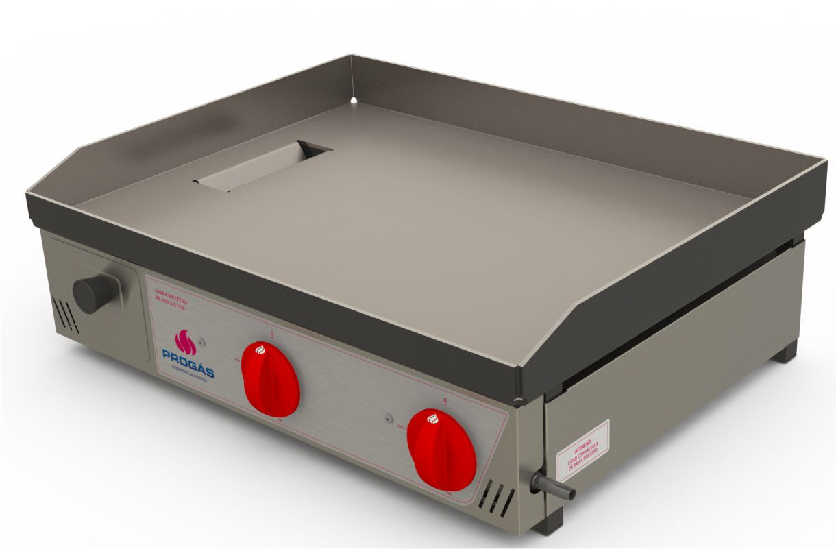 CHAPA BIFETEIRA A GAS 065CM PR650G - PROGAS