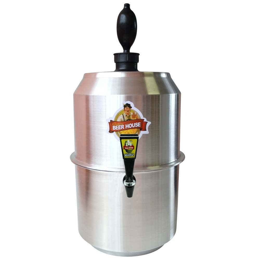 CHOPPEIRA BEER HOUSE 10L ALUMINIO