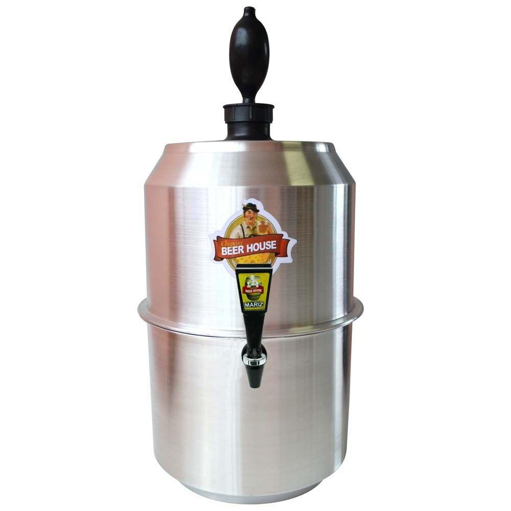 Choppeira Beer House 10L Aluminio - Mariz