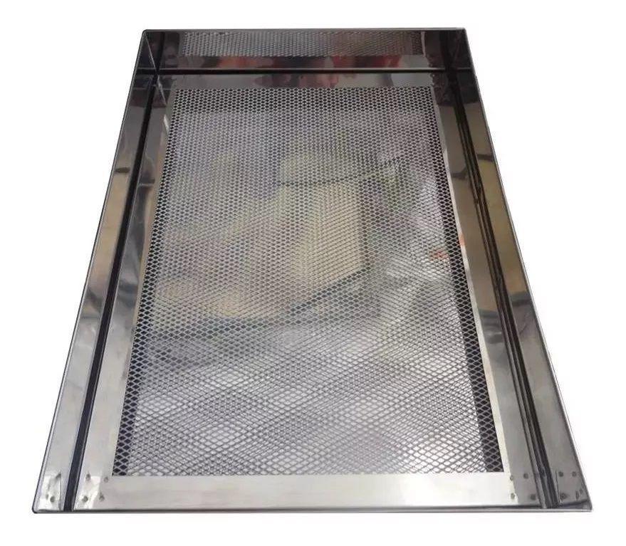 Escorredor Para Frituras Alumínio 35X35X7Cm Np-10.400 - Newpan