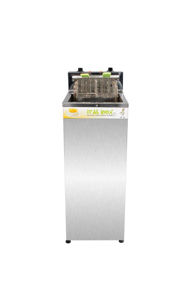 Fritadeira Elétrica Agua e Oleo 18L Alto 8000W 220V Faoi-18 - Ital Inox