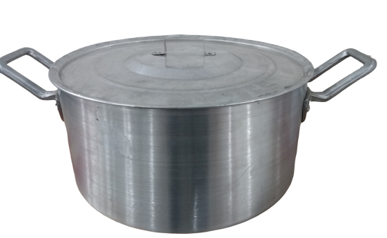 Panela Caçarola Industrial 32cm 8 Litros Basica Nº32 2611 - Alum. Roque