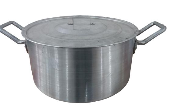 Panela Caçarola Industrial 40cm 17 Litros Basica Nº40 2156 - Alum. Roque