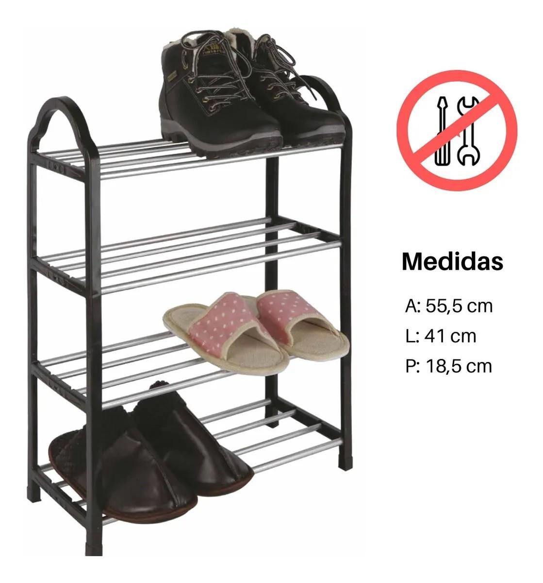 PRATELEIRA ORGANIZADOR MULTIUSO SAPATEIRA PLAST 8 PARES CA08045