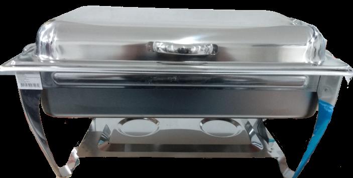 RECHAUD INOX 2 CUBAS ARTICULAVEL RET 8127 V&M