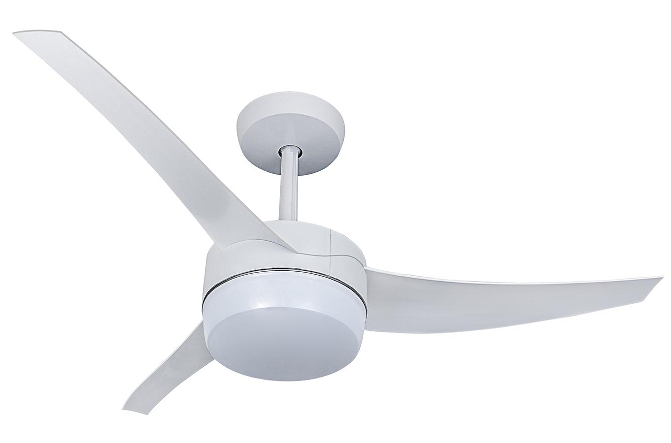 Ventilador Teto Lunik Branco Com Controle 513101 - Venti-Delta