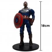 Action Figure Falcão e o Soldado Invernal 18cm