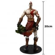 Action Figure Kratos God Of War 2 Cabeça da Medusa