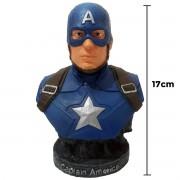 Capitão América Busto Action Figure 17cm