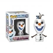 Funko Pop Disney Frozen 2 Olaf com Bruni 733