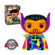 Funko Pop Marvel Doutor Estranho 651 Black Light Exclusive