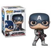 Funko Pop Vingadores Ultimato Capitão América 450 Marvel