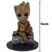 Groot Music Guardiões Galáxia 14cm