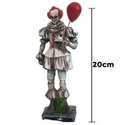 Pennywise White Musgo It A Coisa Action Figure Resina 20cm