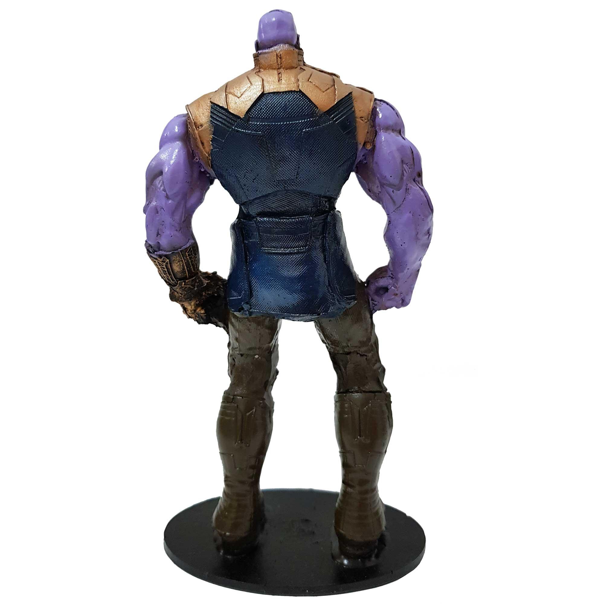 Boneco Thanos Vingadores Guerra Infinita Action Figure 19cm