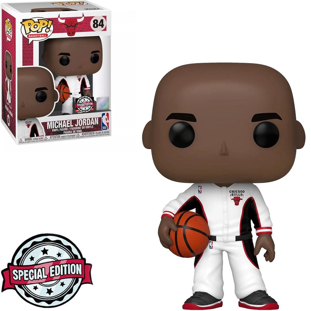 Funko Pop Basketball NBA Chicago Bulls Michael Jordan 84 Edição Especial