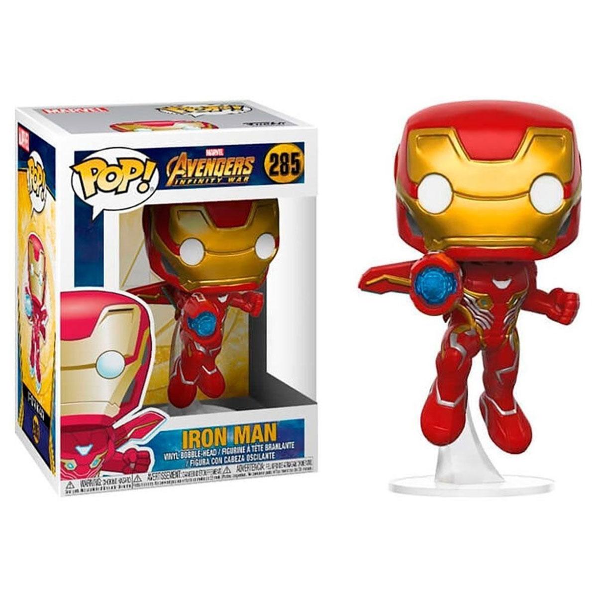 Funko Pop Iron Man 285 Vingadores Guerra Infinita Marvel