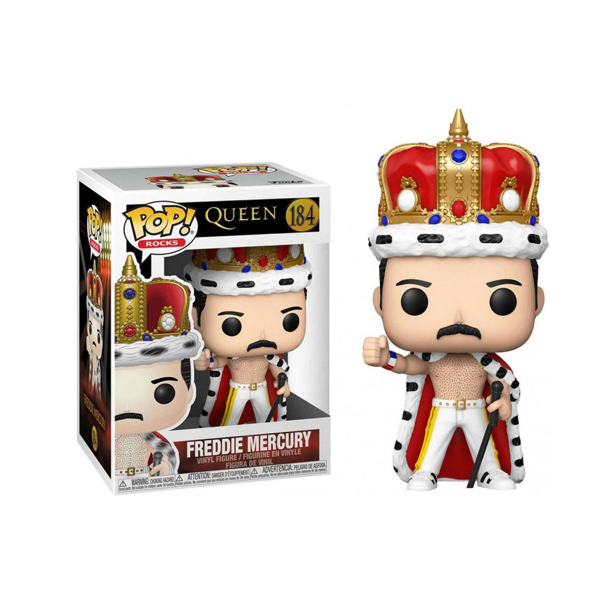 Funko Pop Queen Freddie Mercury King 184