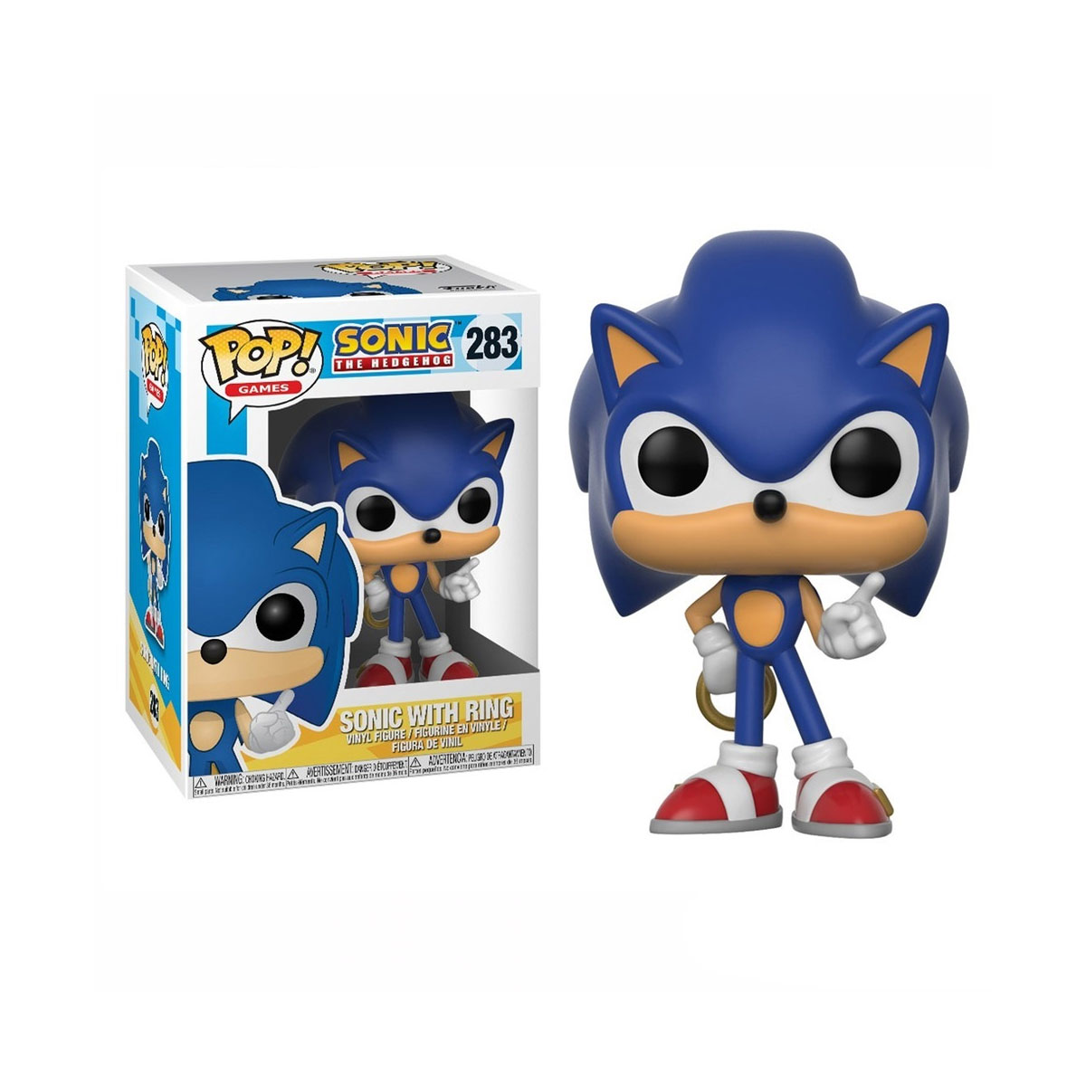 Funko Pop Sonic com Anel 283