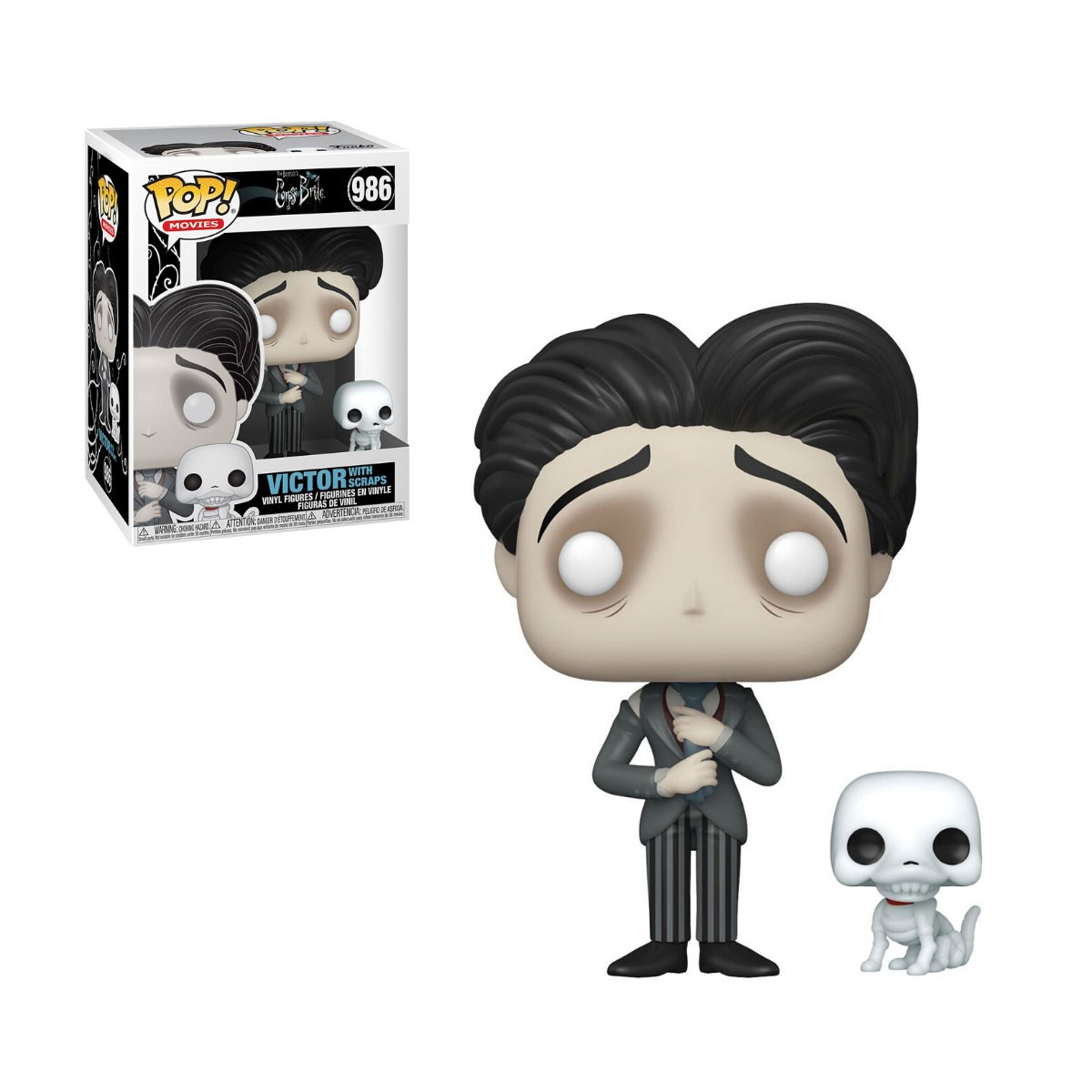 Funko Pop Victor With Scraps 986 A Noiva Cadáver