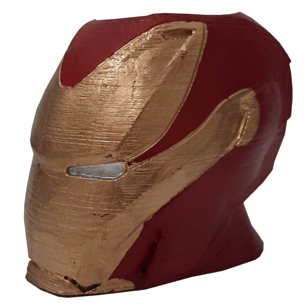 Homem de Ferro Porta Objeto Vaso Iron Man 9cm