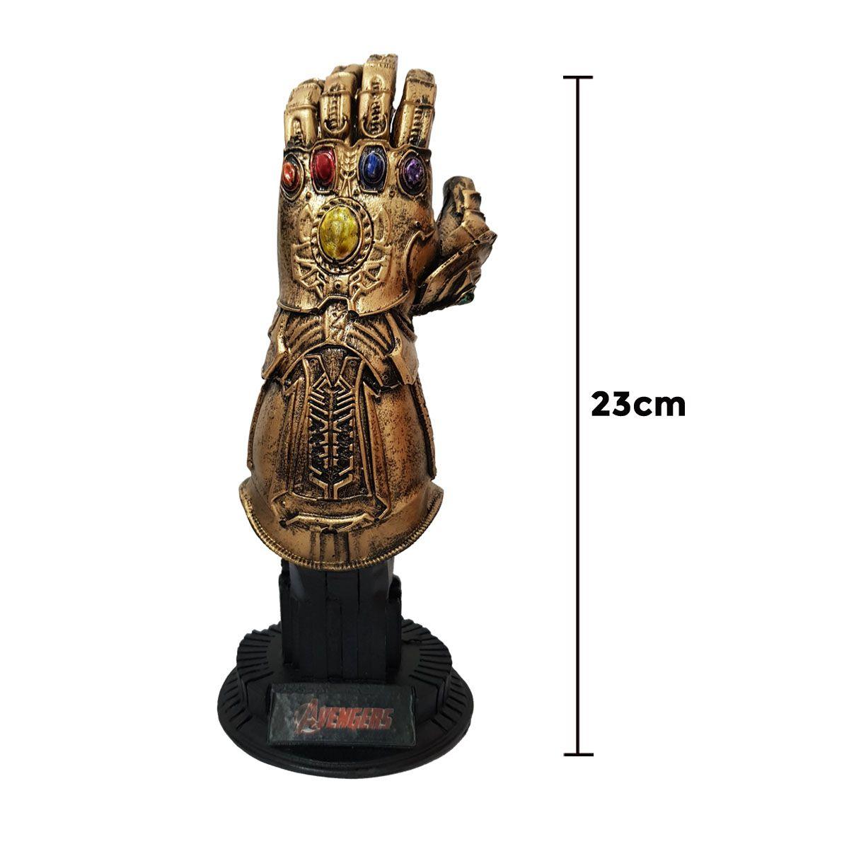 Manopla do Infinito Thanos 23cm em Resina