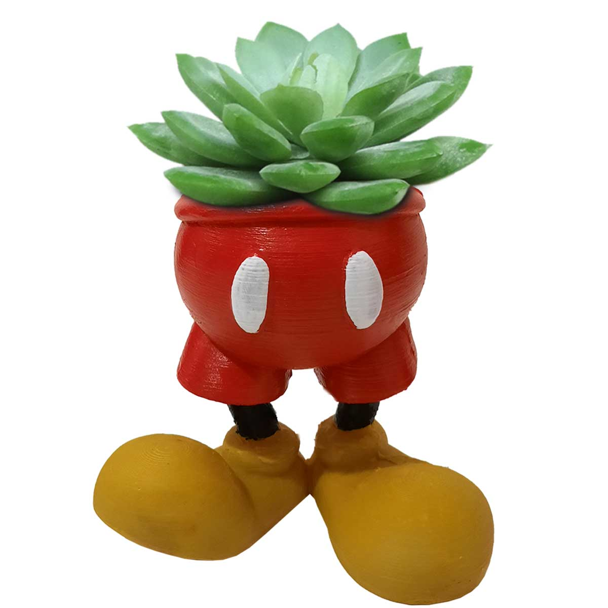 Mickey Mouse Porta Objeto Vaso 10cm