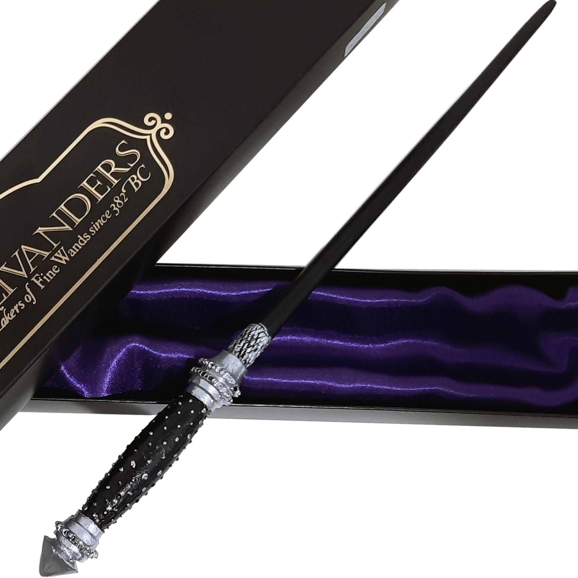 Varinha Narcisa Malfoy de Resina Colecionável Harry Potter Tamanho Real