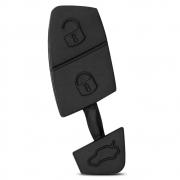 Capa Botão Chave Canivete Fiat Palio Stilo Idea Punto Preto 3 Botões