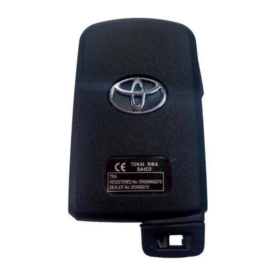 Carcaça Presença Toyota Corolla/Rav4 Novo - 2 Botões