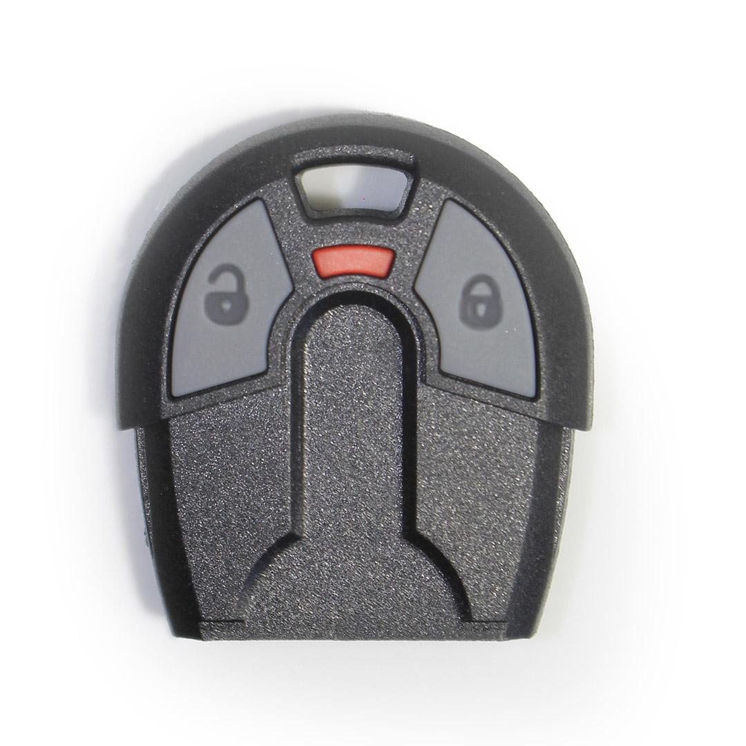 Carcaça Controle Fiat 2 Botões (Preta)