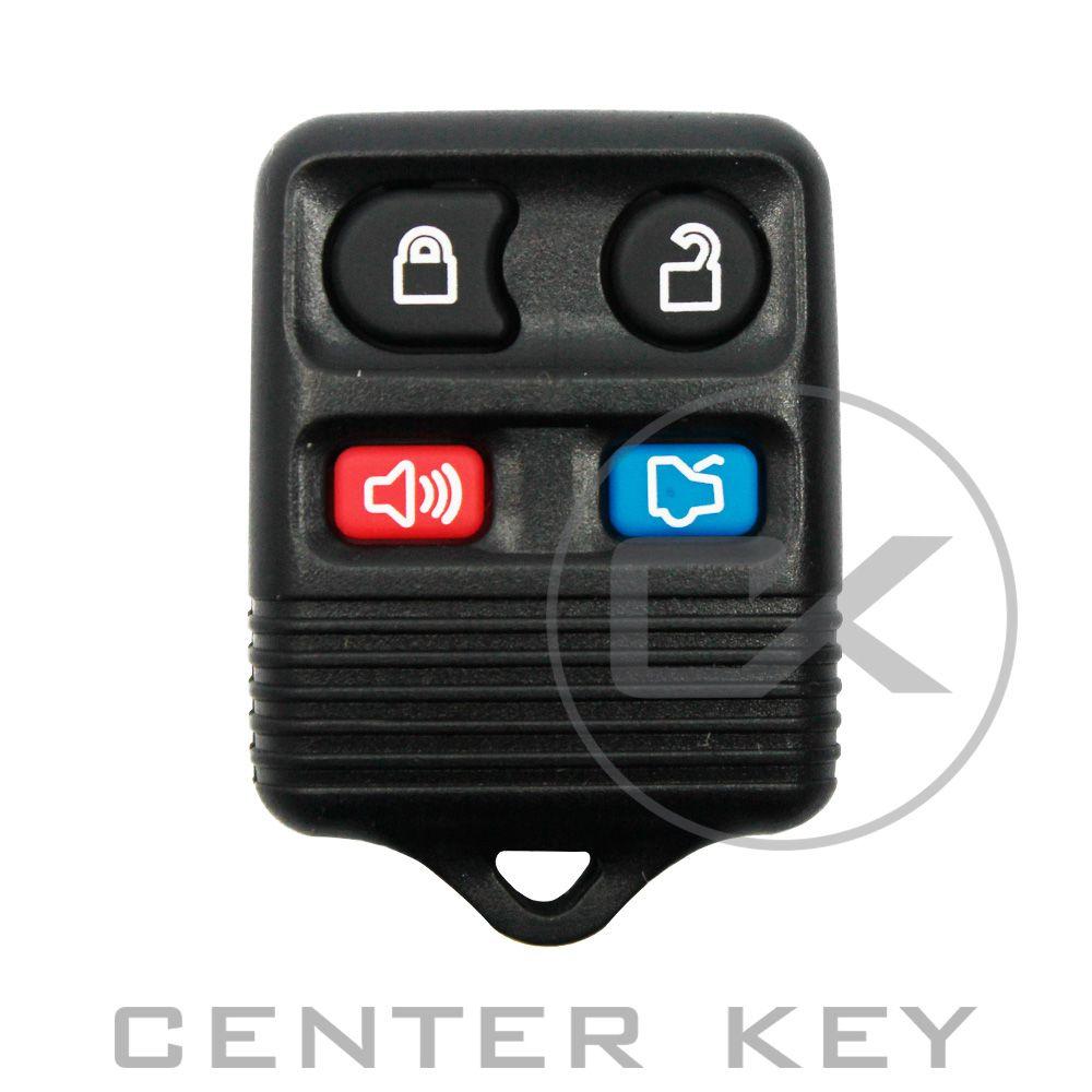 Carcaça Telecomando Controle Ford 4 Botões