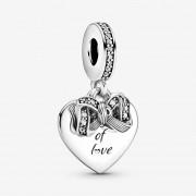 Charm Pendente Presente de Amor Prata925
